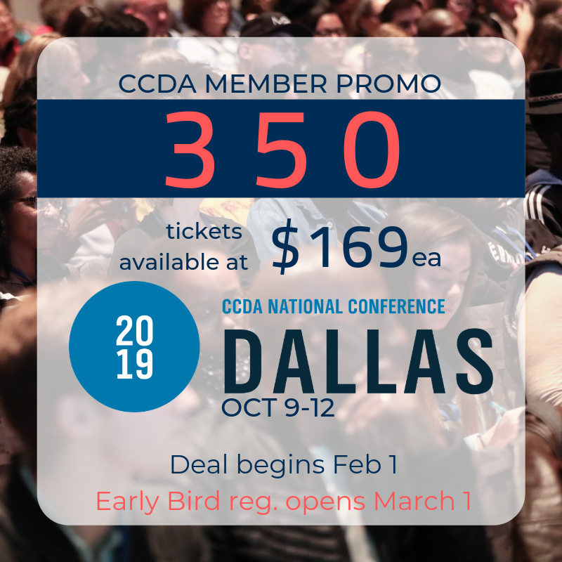 CCDA Dallas Registration